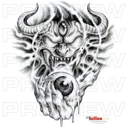 Tattoovox Award Winning Tattoo Designs Online Tattoo Machine Demon